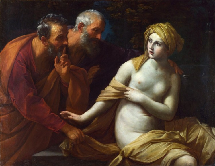 Susanna and the Elders, Guido Reni