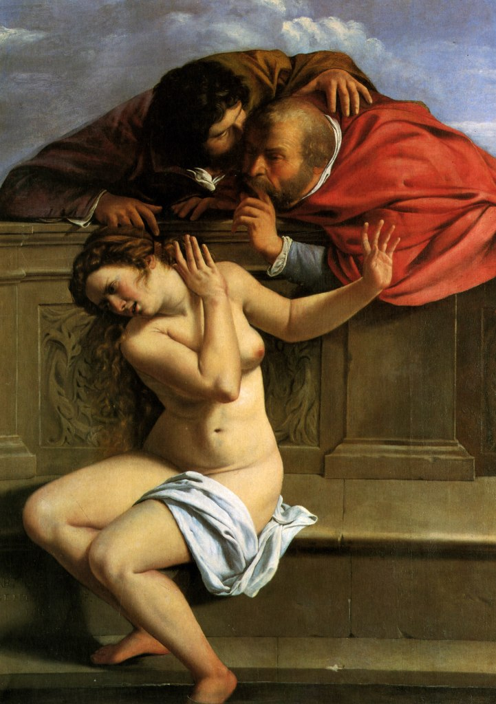Susanna and the Elders, Artemisia Gentileschi