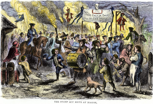 Stamp Act Riots