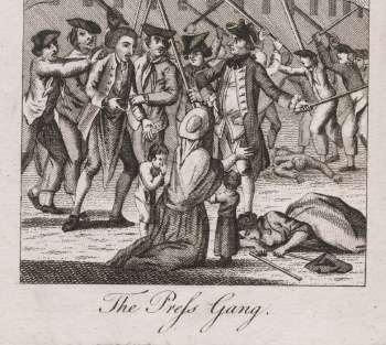The Press Gang, 1770