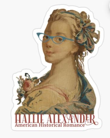 Hallie sticker