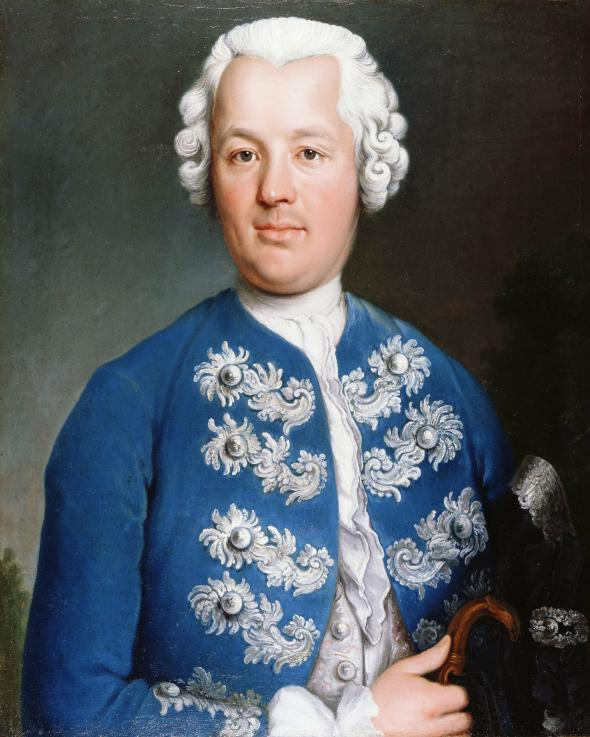 Portrait of Samuel Fraunces, 1770-1785, unknown.