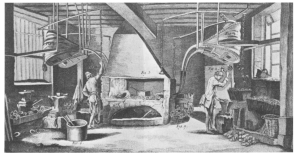 Master of the forge, mid-18th century