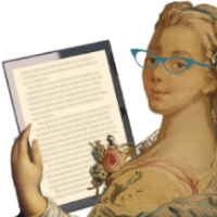 Icon of Hallie reading from an e-reader